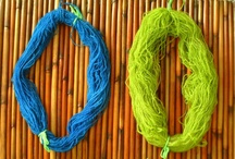 Dyeing Fun / Fun dyeing yarn with natural or not so natural dyes, but the fun is there. Hand painted yarns are a great creative venue.
