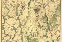 Series 1: Maps of Gettysburg during the American Civil War