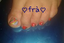 toe nail art.....