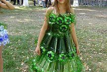 disfraz reciclado
