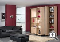 Great storage ideas for tiny living / A collection of ideas for a multi purpose room