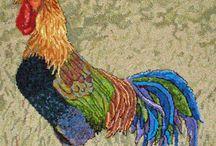 rug hooking/felting