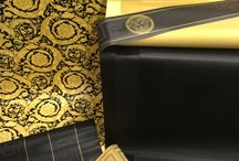 Going GaGa For Versace! / Luxury wallpaper meets high fashion design, have a browse at our beautiful black and gold patterns from Versace.