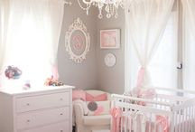 baby girl nursery ideas / by Cherie Barlow