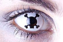 Mean contact lenses