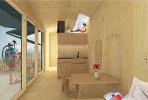 Cabin Spacey / Smartes Wohnen auf kleinem Raum für den digitalen Nomaden mit CABIN SPACEY.