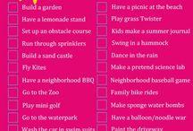 My summer list!! / by Shawna Stevenson