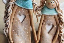 anjeli a figurky