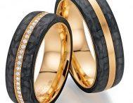 Trauringe Brillanten rundum / Eheringe mit Diamanten rundum gefasst.