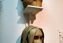 Sculpture / Ideas for 3D sculpture self portrait