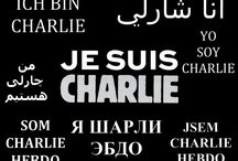 #jesuischarlie / Tribute to the victims of this terrible event that happened in Paris (07.01.2015).  Freedom of speech.