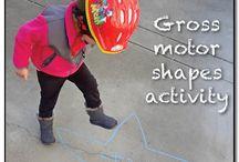 ECE - Gross Motor Activities