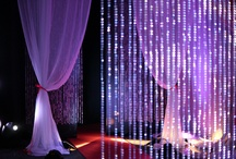Crystal/Sheer Decor / Check out our ceiling decor #crystal wedding