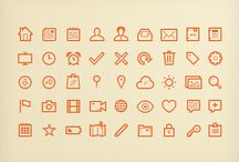 Web Design Icons / A collection of free icons for webs design projects.