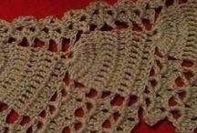 VIRKKAUS / Crochet  / Virkkausmalleja enimmäkseen äitini tekemiä. Handmade by my mother! Ive got no time for that!