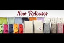 May Arts Ribbon Fall/Winter 2014 New Releases / Craft projects using our Fall/Winter 2014 ribbon