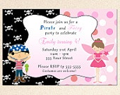 Party Ideas - Combined Birthdays - Pirate and Princess/Fairy/Mermaid, Peter Pan, etc. / by Stephanie Hall