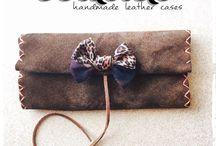 Ecasies / Handmade leather cases