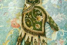 henna - negative space