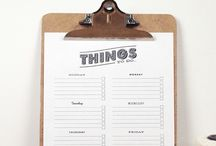 To do list / time-management