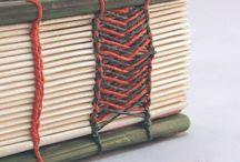 Book binding / Kirjan sidontaa..