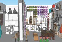 Ladeneinrichtung Raumkonzepte / Mit einer SketchUp 3D Planung sind Sie auf der sicheren Seite.