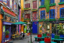 Colorful places