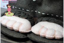 Santo Antônio - porta alianças / Aqui o Santo Antônio aparece como porta alianças, após a cerimônia ele poderá ser jogado para as amigas solteiras no tradicional momento do buquê.  Contato: guriah.arteira@hotmail.com