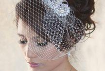 vintage birdcage veils