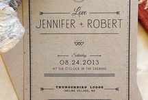 Kirstin Wade and Russell Dippel / Invitation Inspiration!