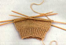 Knitting For Beginners / My knitting skills end at scarves. Pins to help change that.