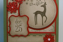Tags til Christmas-Retired / Made with Stampin' Up! Tags til Christmas stamp set.