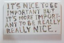 words / by Rachel Tepper