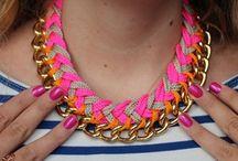 Collares de moda :)