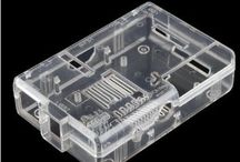 SB Raspberry Pi Case (Clear) / Compatible with Raspberry Pi model A and Raspberry Pi model B this 2-piece case snaps together easily.