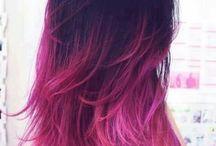 vlasy-barevné  kombinace