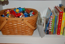 Cool Ways to Organize your Toys / by LelaKnows