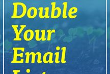 Email Marketing / Email Marketing tips on how to optimize and grow your list.