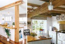 Idées déco pour la cuisine / Le plein d'idées pour décorer votre cuisine! Laissez-vous inspirer...