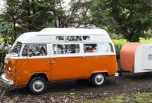 LLLL-Lola! / An orange VW campervan from 1972 available to hire for awesome adventures at www.vintagevwcampers.com