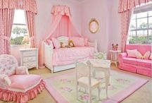 QUARTO DE MENINAS / Ideias e sugestões de decoração para quarto de meninas
