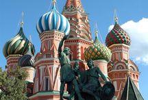 russia / un mondo da scoprire.chiese.palazzi,città immensità dei paesaggi mezzi di comunicazione