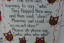 Bird theme owl