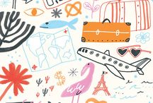 Travel illustrations and maps / Art of being tourist