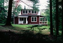 Cabinspiration / Beautiful cabins and dreamy natural sceneries.