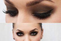 Ojos color marrón