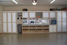 Home Stuffs ~ Garage Organization