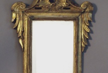 Swedish Mirrors / At Cupboards and Roses Swedish Antiques, we offer a selection of Swedish mirrors from the Baroque to the Empire periods.  Our mirrors have retained their original mirror glass and wooden backs and are often signed by the maker.