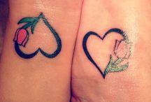 mum and daughter tattoo