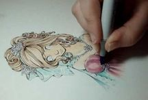 Copic pens / by Nancy Tait